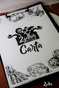 2Gether Restaurant Marbella étlap design