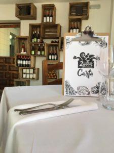 2Gether Restaurant Marbella étlap design