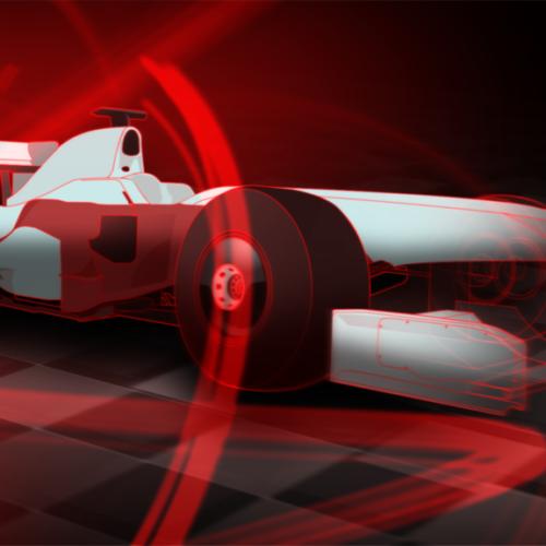 Formula 1 magyar közvetítés, broadcast design, főcím pillanatkép