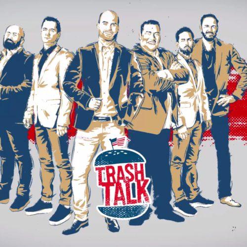 Trash Talk 2016 arculat: főcím pillanatkép