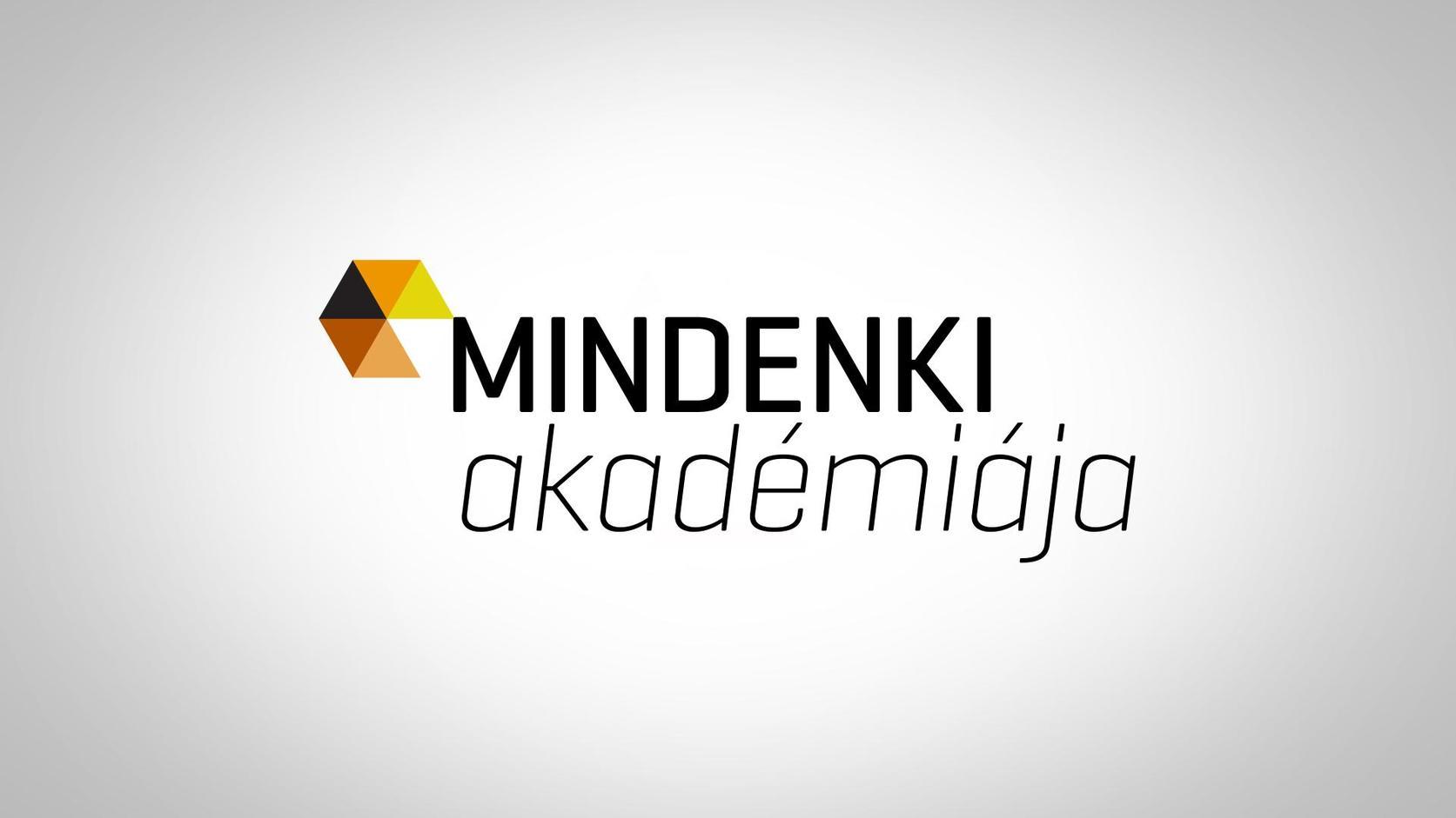 Mindenki Akadémiája - ismeretterjesztő sorozat logó