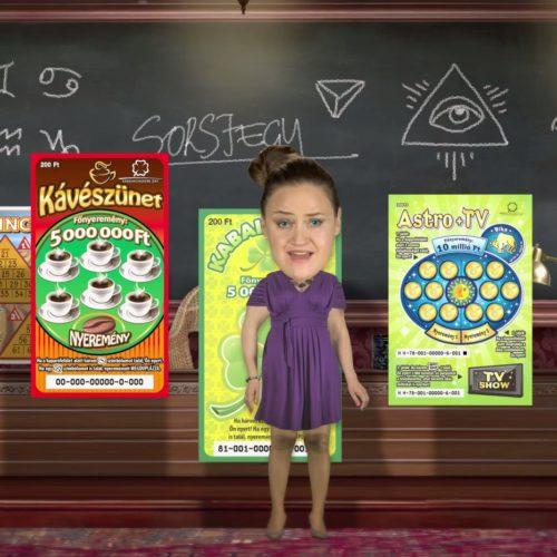 Szerencsejáték Zrt. - animációs magyarázó film a sorsjegyekről