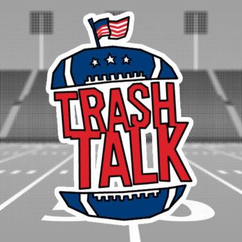 Trash Talk 2018 arculatához logó terv és logó animáció
