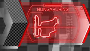 Formula 1 magyar közvetítés, broadcast design terv: főcím pillanatkép