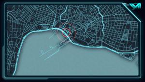 Argo 2, HUD (Heads-Up Display) animáció és képernyőterv