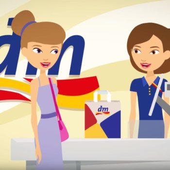 dm Magyarország - animációs kampányfilm az új mobil applikációhoz