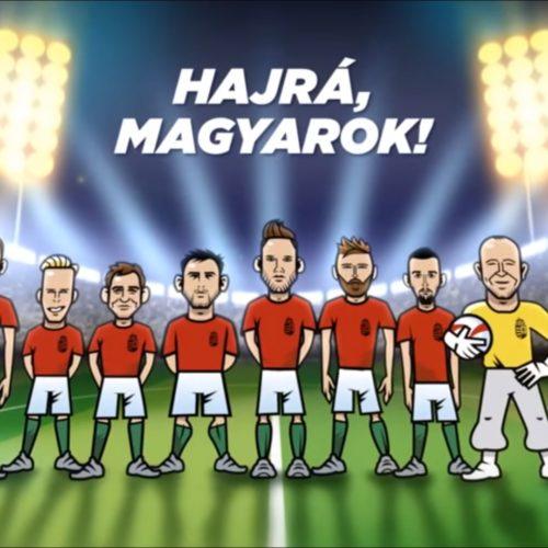 Magyar Labdarúgó Szövetség animációs kampányfilm
