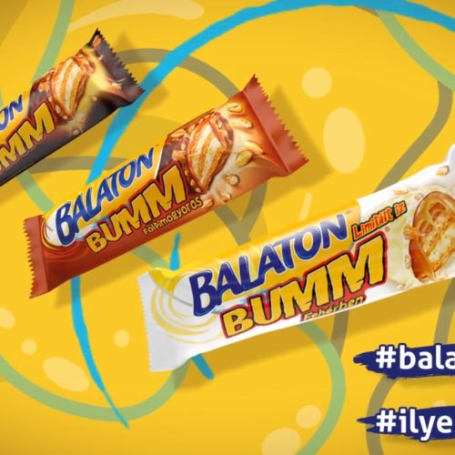 Balaton BUMM reklám film, packshot animáció pillanatkép